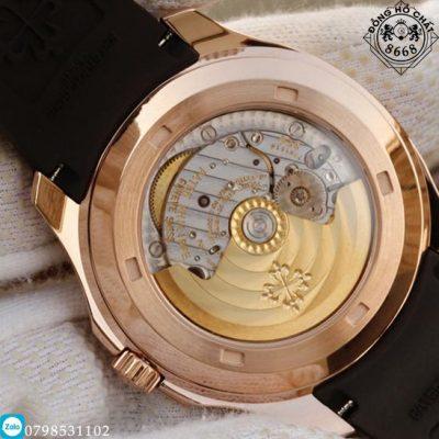 Mặt Caseback của đồng hồ Patek Philippe Aquanaut 5167R-001 Replica 1:1