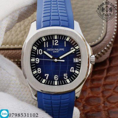 Đồng hồ nam Patek Philippe Aquanaut Blue Super Fake