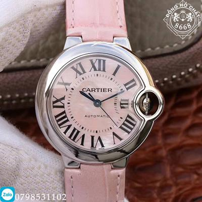 đồng hồ Cartier Fake siêu cấp bản Replica 1:1 Thụy Sĩ