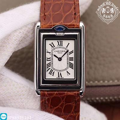 đồng hồ cartier nữ siêu cấp, siêu đẹp, giống y bản chính hãng