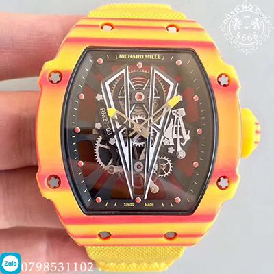 Như thường lệ, trước thềm Roland Garros, thương hiệu Richard Mille tiếp tục hợp tác với Nadal để giới thiệu đến mẫu đồng hồ mới nhất mang tên Richard Mille RM27-03 Rafael Nadal