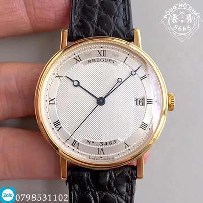 Nét đẹp sắc sảo của chiếc đồng hồ Breguet siêu cấp