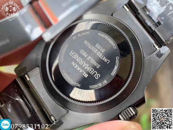 Trong phiên bản này, nhà máy đã trang bỊ chiếc đồng hồ cỗ máy caliber 3135 tự động lên dây với mức dự trữ năng lượng cao