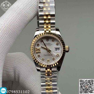 Rolex Lady DateJust 279173-0003 Replica 1:1 làm một trong những chiếc đồng hồ đầu tiên đạt chuẩn Chronometer