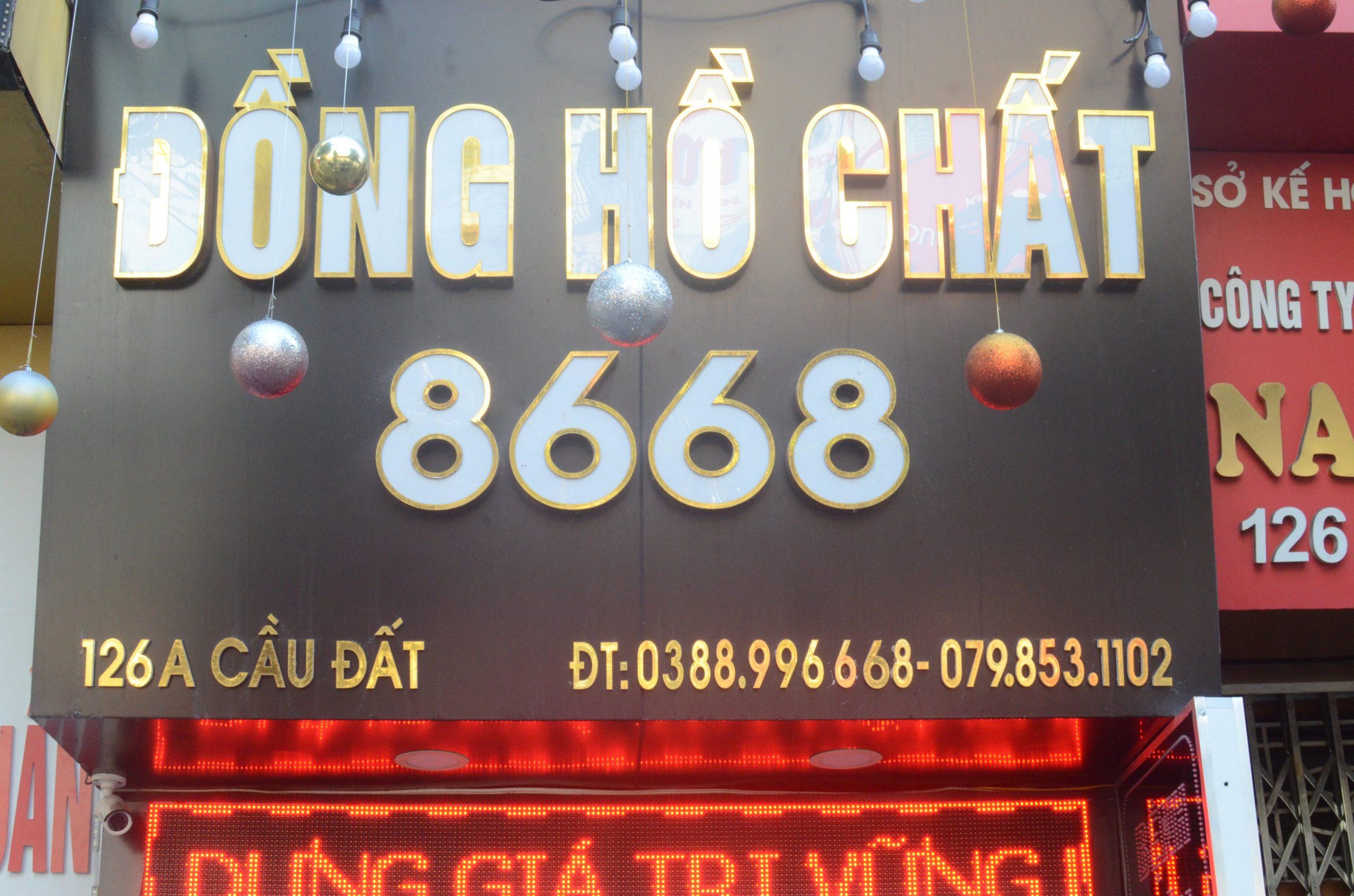 Đồng Hồ Chất 8668 - Cửa Hàng Đồng Hồ Replica