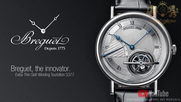 Breguet được coi là thương hiệu bạc tỷ bởi những tính năng siêu việt trong cấu tạo