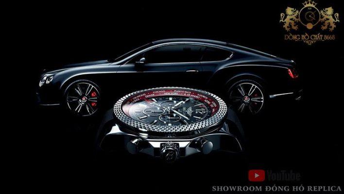 Breitling là thương hiệu đồng hồ được lấy cảm hứng từ xe đua và hàng không vũ trụ