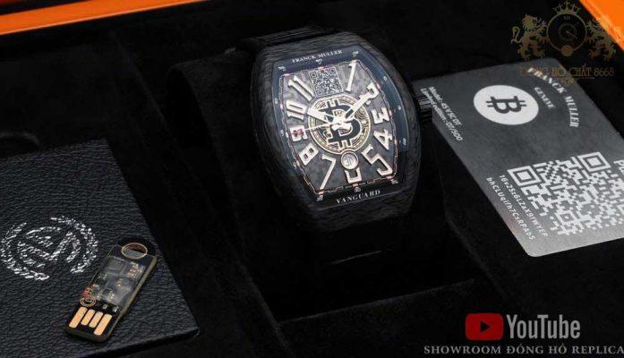 Dáng vỏ Cintrée Curvex là đặc trưng thiết kế của thương hiệu đồng hồ Franck Muller Geneve