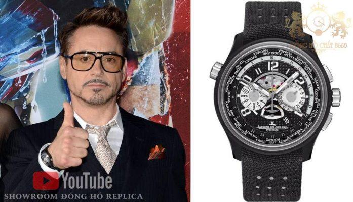 Người Sắt Robert Downey Jr cũng là một tín đồ của thương hiệu Jaeger Lecoultre