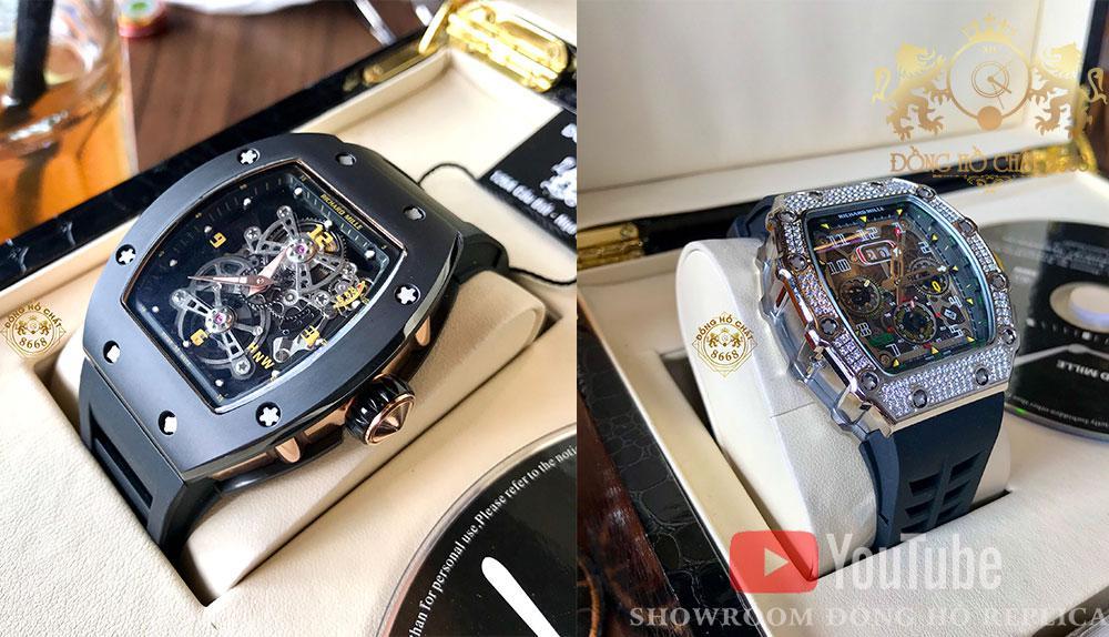 Đồng hồ Richard Mille phiên bản Super Fake 1 : 1 là giải pháp tối ưu cho những tín đồ đam mê đồng hồ nhưng không đủ tiềm lực tài chính