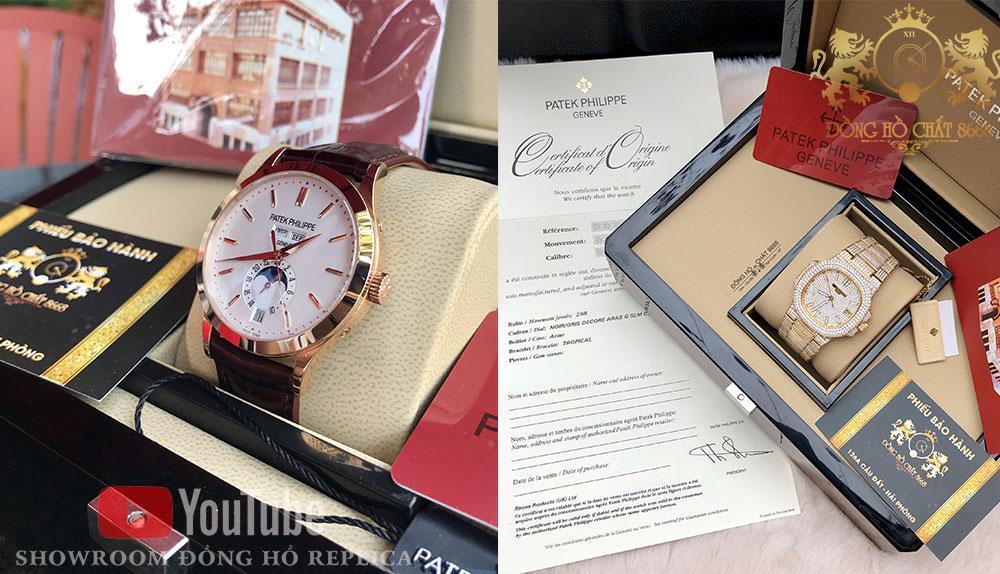Các phiên bản Patek philippe Super Fake 1:1 đang là giải pháp tối ưu trong bối cảnh đồng hồ Patek Philippe chính hãng có mức giá quá đắt đỏ.