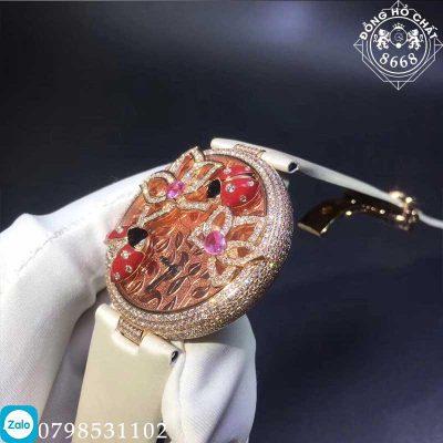 đồng hồ cartier nữ vàng nguyên khối