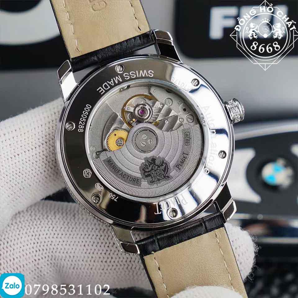 tất cả các chi tiết của bộ máy đồng hồ piaget full diamond đều được làm chuẩn 1:1