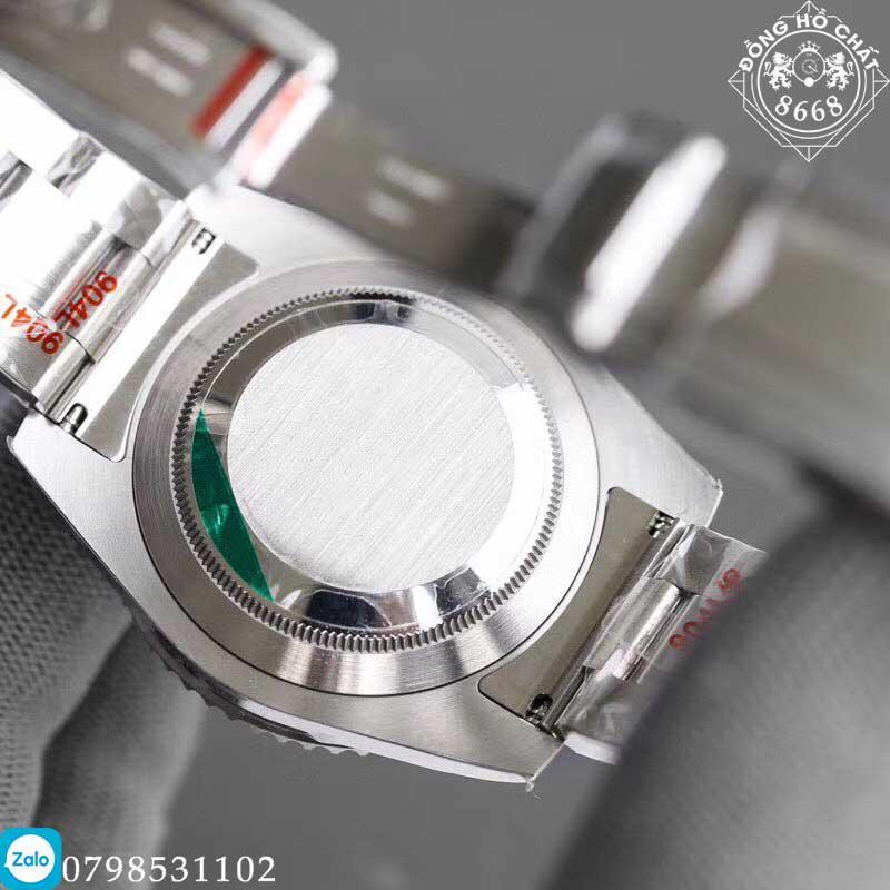 Chi tiết bộ máy cơ học của đồng hồ rolex super fake