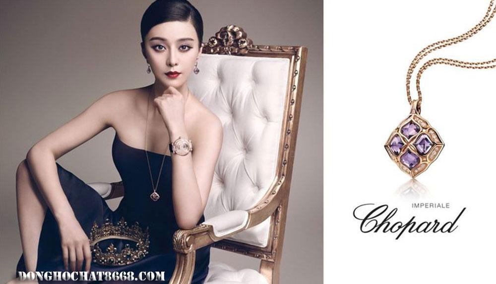 Nữ diễn viên Trung Quốc Phạm Băng Băng - Đại sứ thương hiệu đồng hồ và trang sức Chopard