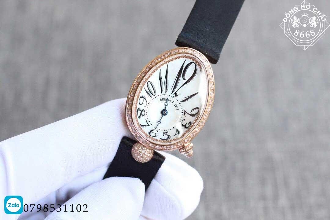 Đồng hồ breguet chính hãng mang đậm thiết kế của nữ giới