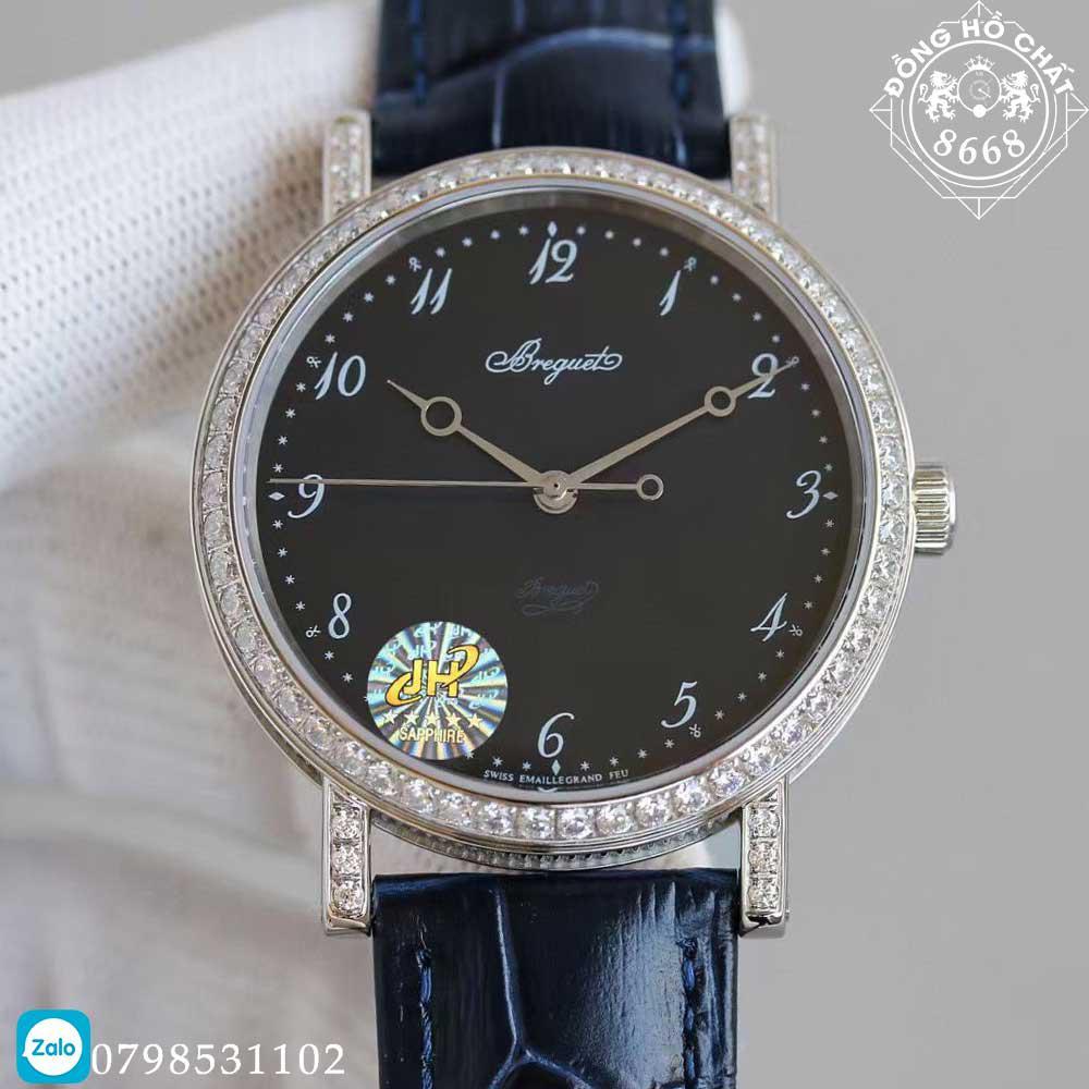 Đồng hồ Breguet super fake có kiểu dáng thanh lịch