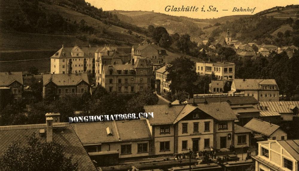 Thực chất Glashütte là một thị trấn ở miền đông nước Đức.