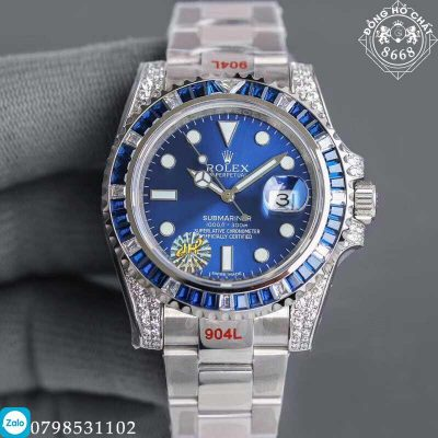 Rolex Submariner Date 116659SABR Replica 1:1 lấy màu xanh blue làm chủ đạo
