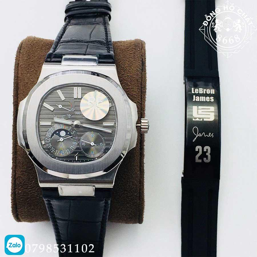 tất cả các chi tiết đồng hồ patek philippe fake đều được hoàn thiện vô cùng cao