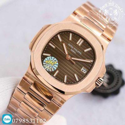 Toàn bộ chất liệu của đồng hồ đều được làm rất cao cấp và sắc sảo