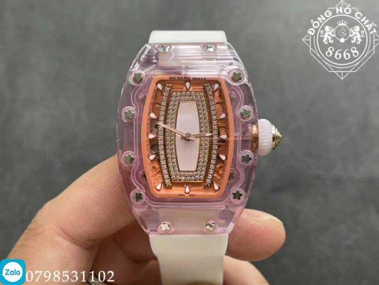 chi tiết thiết kế của đồng hồ richard mille fake giá rẻ