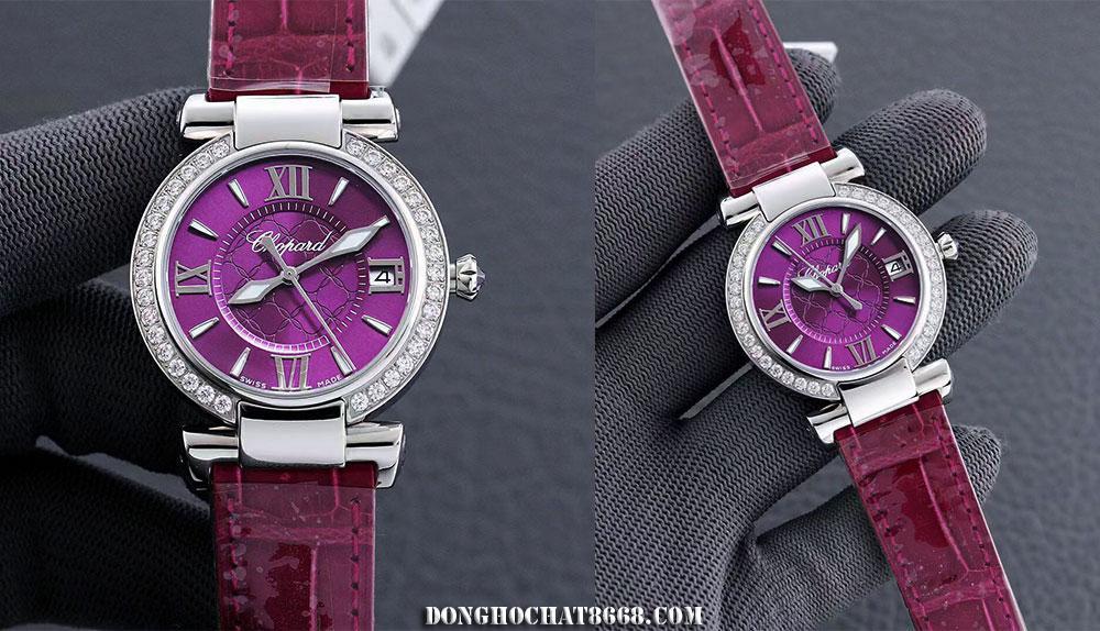 Đồng hồ Chopard phiên bản mặt tím đang nổi lên như 1 hiện tượng trong năm 2021