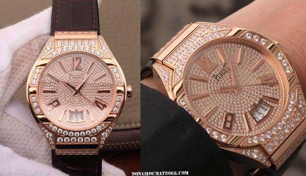 Các mẫu đồng hồ Piaget Super Fake 1:1 là những sản phẩm được chế tác tỉ mỉ và chi tiết, đạt độ giống lên đến 96%.