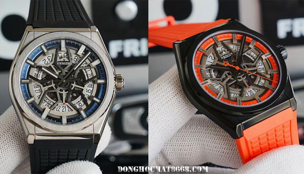 Các mẫu đồng hồ Zenith Replica 1:1 là những sản phẩm được chế tác tỉ mỉ và chi tiết, đạt độ giống lên đến 96%.