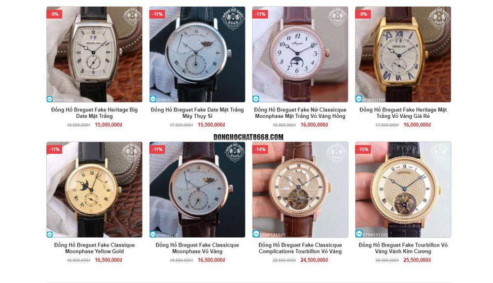Đồng hồ Breguet Gold Watch Replica 1:1