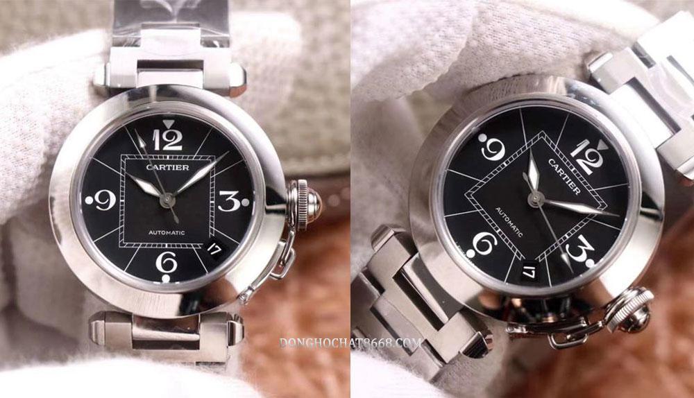 Đồng hồ Cartier Pasha phiên bản Replica 1:1