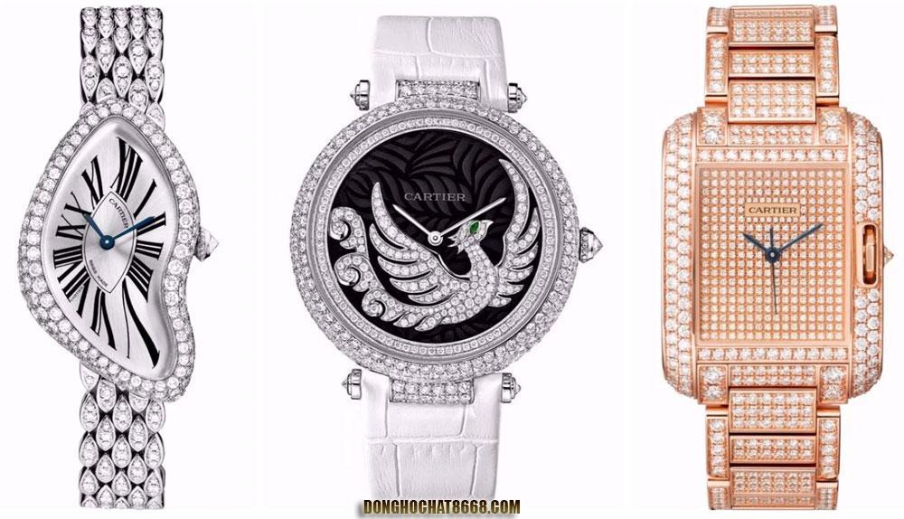 Đồng hồ nữ Cartier mang vẻ đẹp đầy cuốn hút