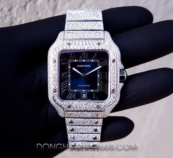 Đồng hồ Cartier độ kim cương