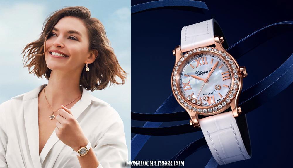 Chopard là thương hiệu đồng hồ cực kỳ nổi tiếng với những mẫu đồng hồ mang tính thời đại