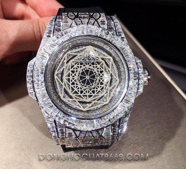 Đồng hồ Hublot độ kim cương