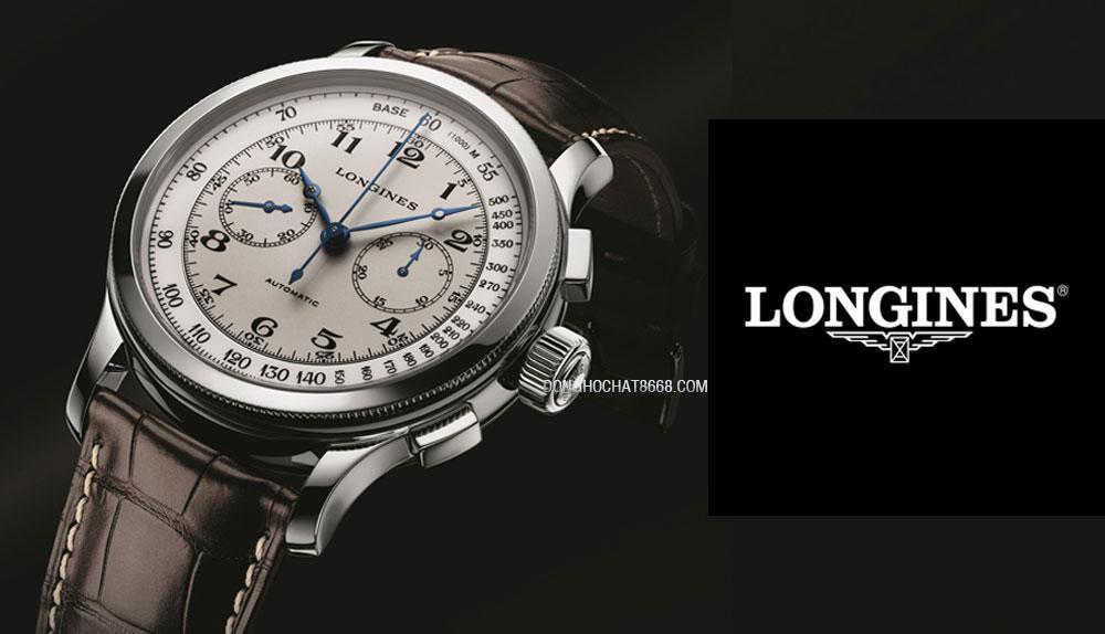 Đồng hồ Longines và Logo của thương hiệu
