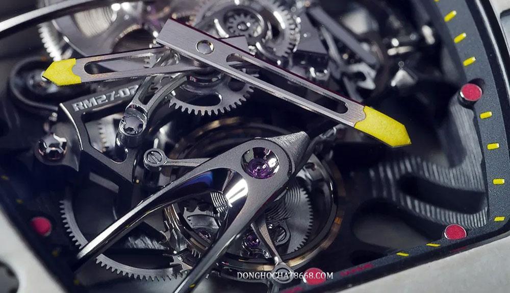Richard Mille được g�i là cỗ máy cơ khí Mini
