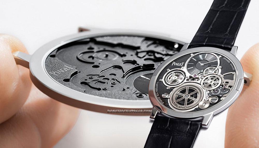 Đồng hồ Piaget với thiết kế siêu mỏng.
