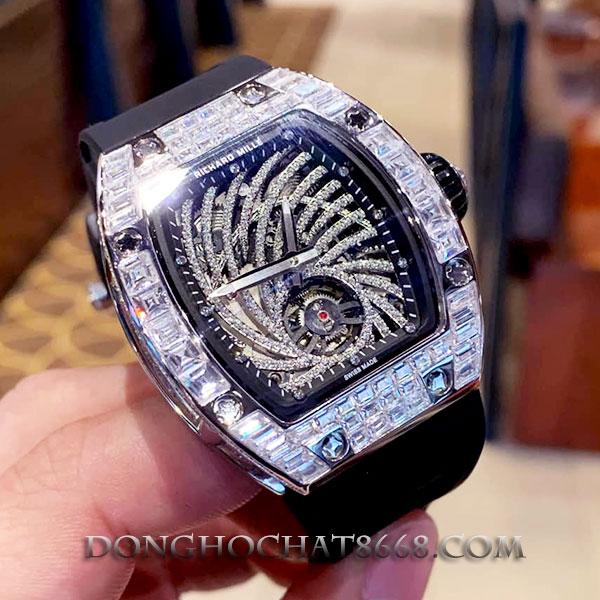 Đồng hồ Richard Mille độ kim cương