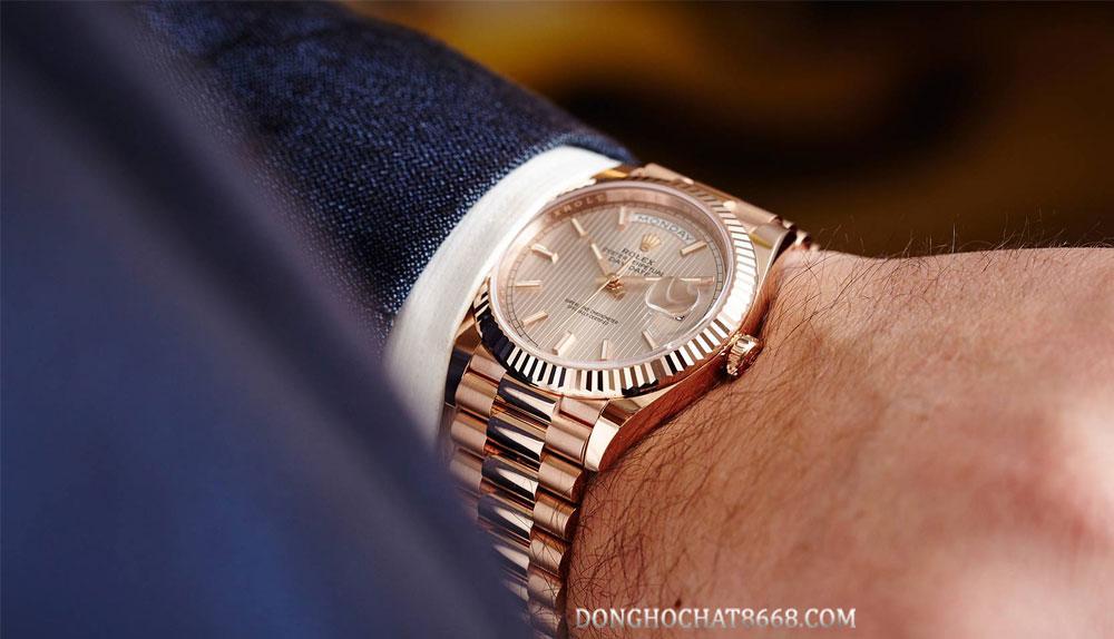 Rolex Daydate - Một trong những bộ sưu tập vô cùng tuyệt vời của thương hiệu Rolex.