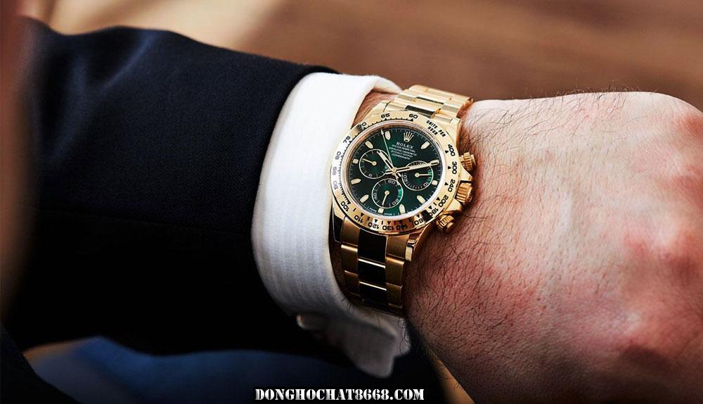 Một phiên bản đồng hồ Rolex Daytona Cosmograph phiên bản Rep 1:1 tại Đồng Hồ Chất 8668