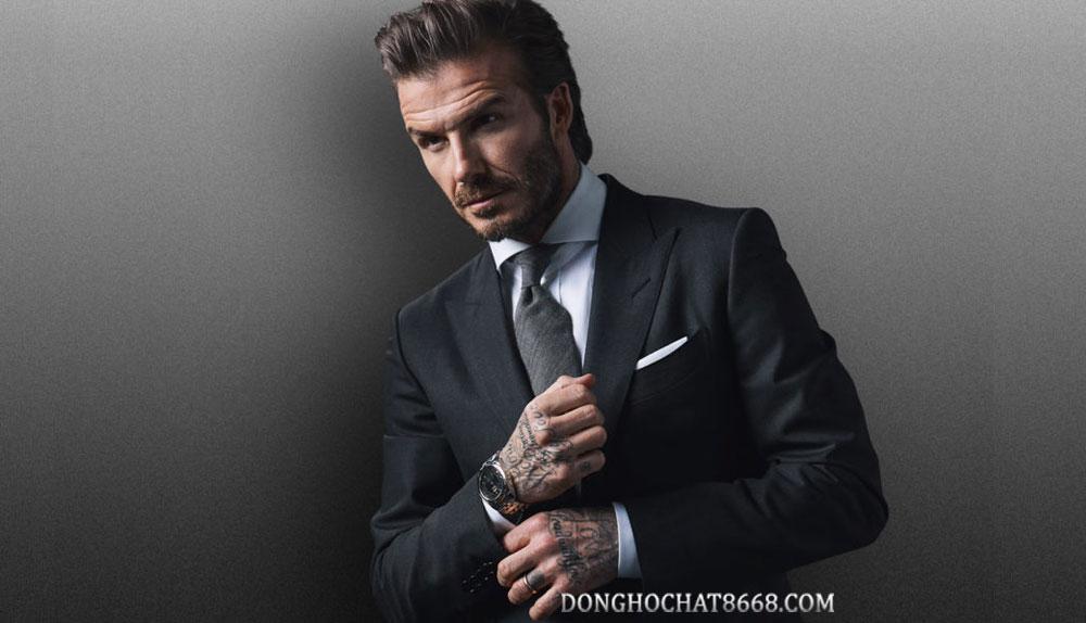David Beckham - Đại sứ thương hiệu đồng hồ Tudor