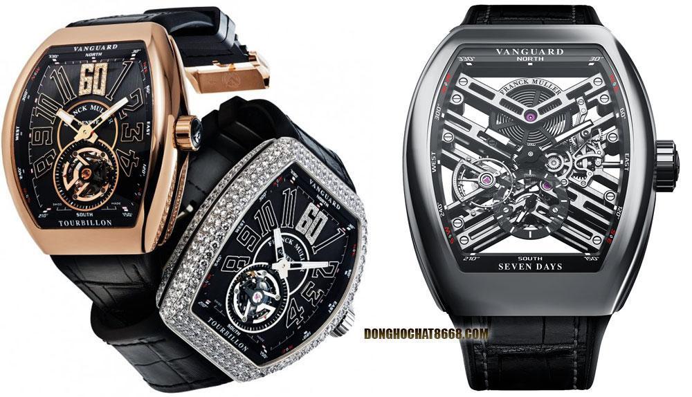 Dáng v� Cintrée Curvex là đặc trưng thiết kế của thương hiệu đồng hồ Franck Muller Geneve