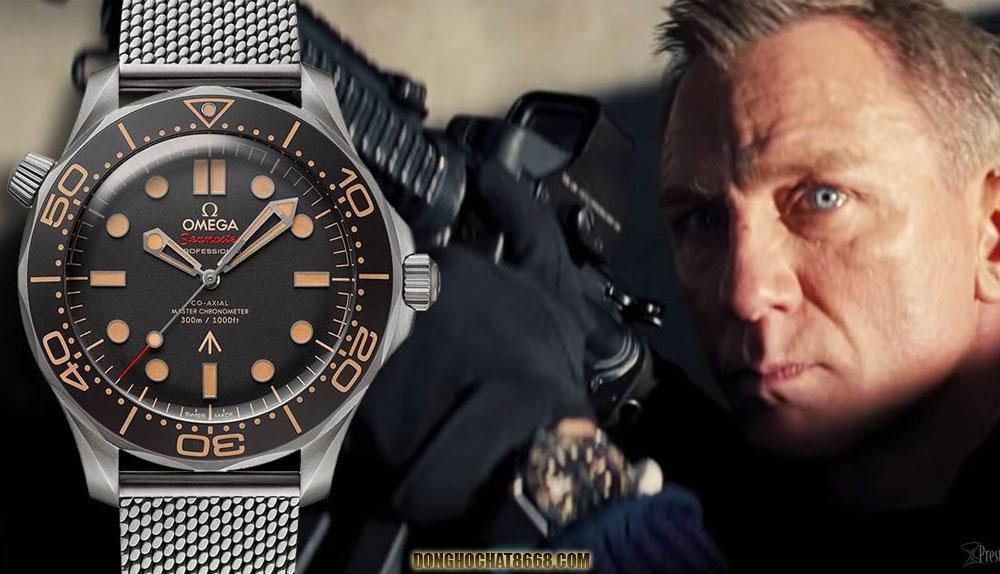Góp mặt trong bộ phim Điệp viên 007 đã đánh dấu cột mốc những chiếc đồng hồ Omega cổ trở nên phồ biến hơn.