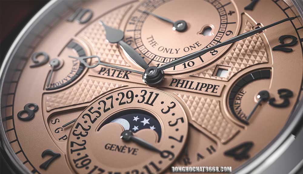 Thiết kế của Patek Philippe mang tính tồn tại lâu hơn các xu hướng thời trang và luôn thể hiện vẻ đẹp đương đại