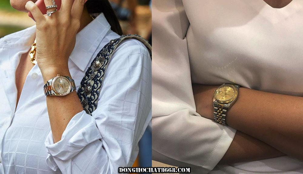 Đồng hồ nữ Thụy Sỹ của Rolex luôn khiến chủ nhân trở lên sang trọng và đẳng cấp hơn bao giờ hết.