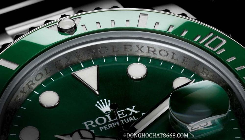 Đồng hồ thuộc bộ sưu tập Rolex Submariner có khả năng chống nước vô cùng ưu việt.