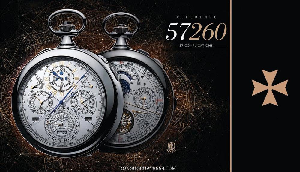 Vacheron Constantin 57260 hiện là chiếc đồng hồ nhiều chức năng nhất thế giới.